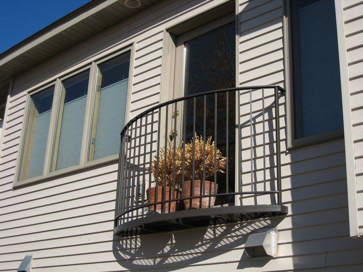Orlando Wrought Iron Balcony Railing: Juliet Balconies Wrought Iron