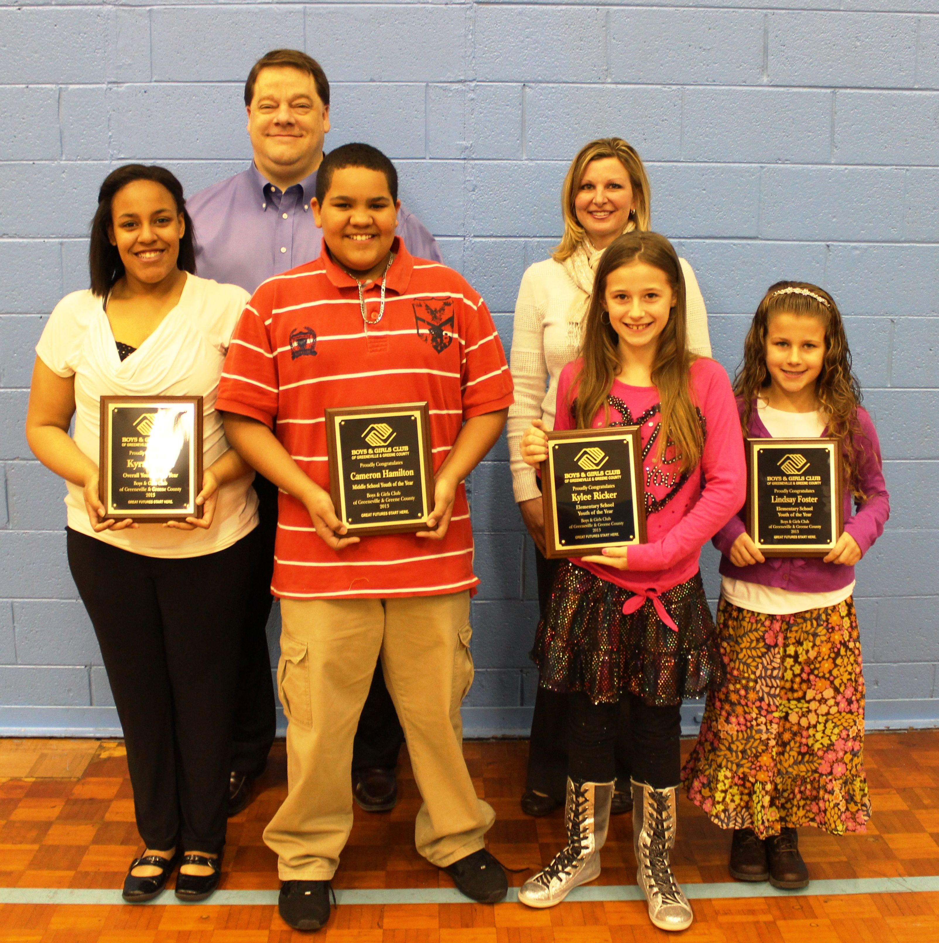 2013 Youth of the Year Winners