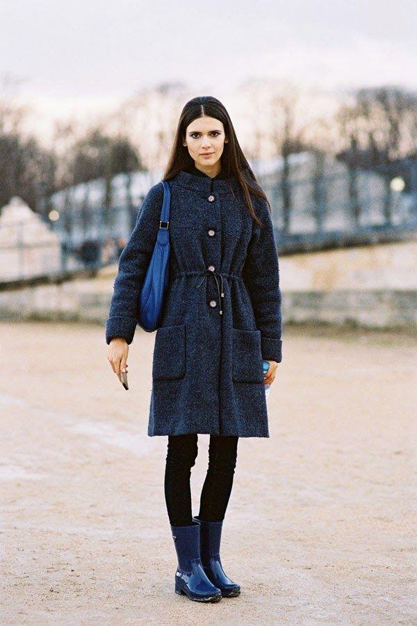 Vanessa Jackman: Paris Fashion Week AW 2011 Natassja
