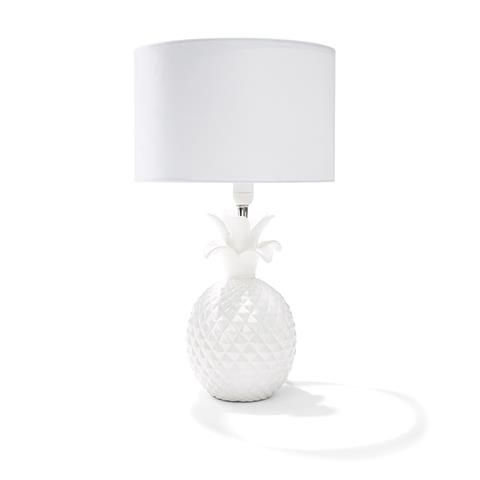 Pineapple Lamp   White | Kmart Spray Paint Gold?