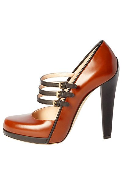 Women's Fall Booties | OOOK - Bally - Women's Shoes 2011 Fall-Winter - LOOK 18 | Lookovore