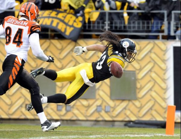 Troy Polamalu 43 Steelers Football Pittsburgh Steelers