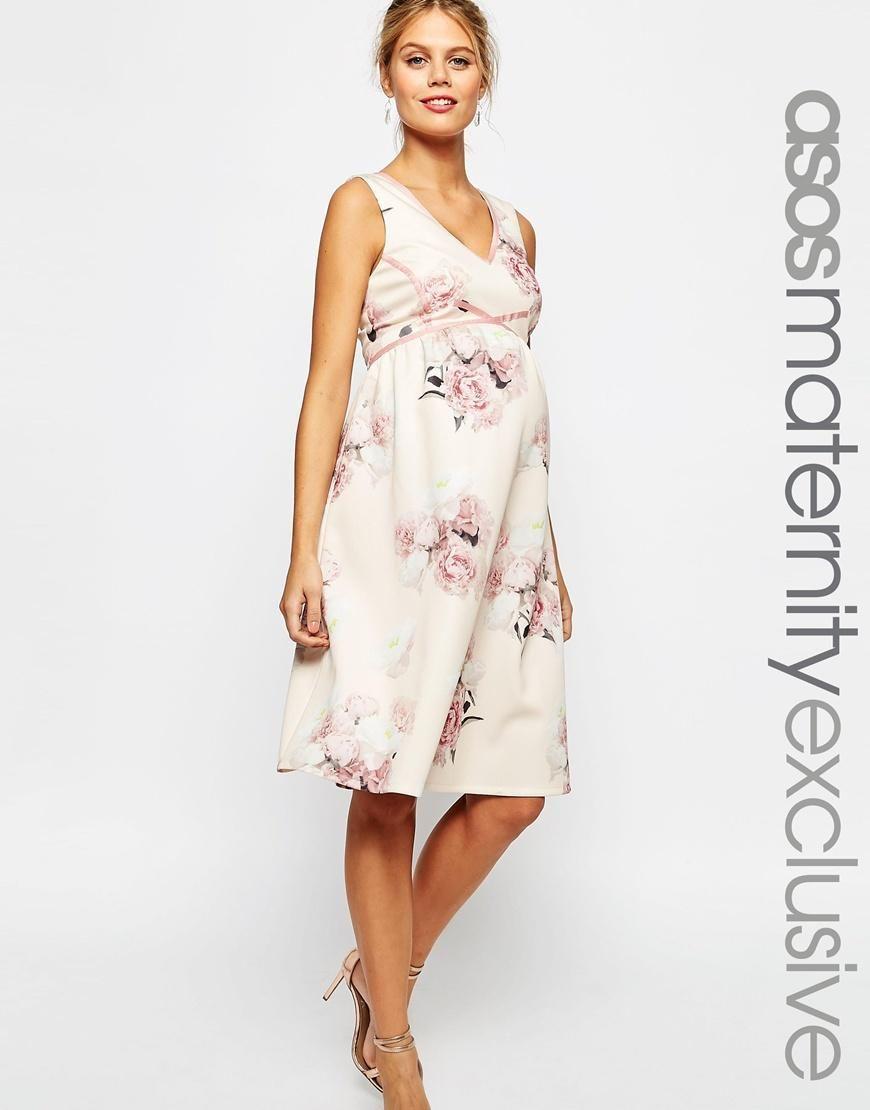951181134e806 ASOS Maternity   ASOS Maternity SALON Prom Dress at ASOS   Maternity ...