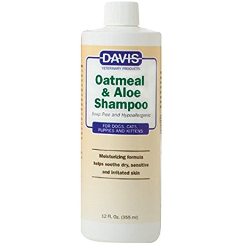Davis oatmeal and aloe dog and cat shampoo 12ounce