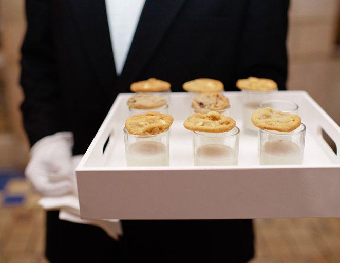 Resultado de imagen para bocadillos de media noche en bodas
