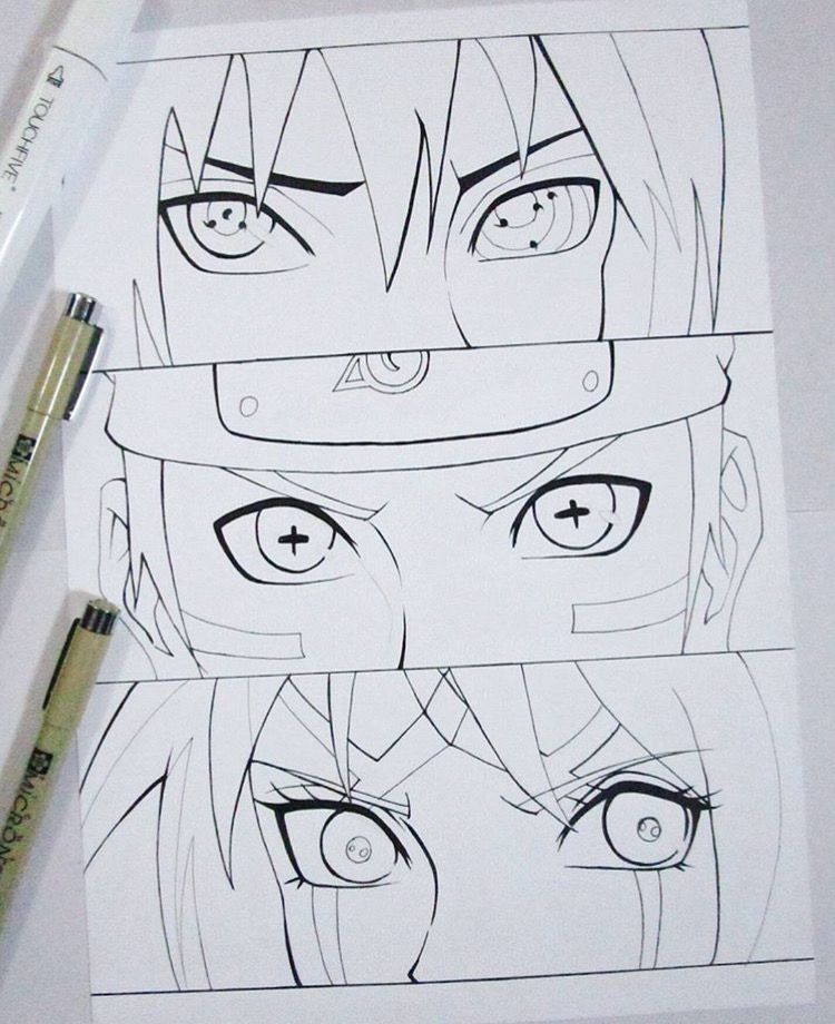 Sharingsn Desenhos Para Colorir Naruto Arte Naruto Olhos Do Naruto