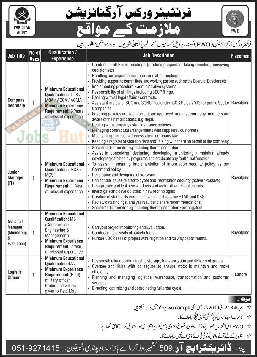 Jobs Advertisement Army jobs, Work organization, Job