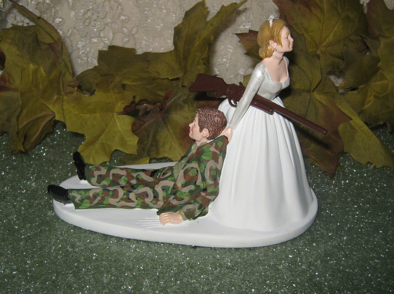 camo wedding cake topper wedding camo cake topper wedding ideas 12341