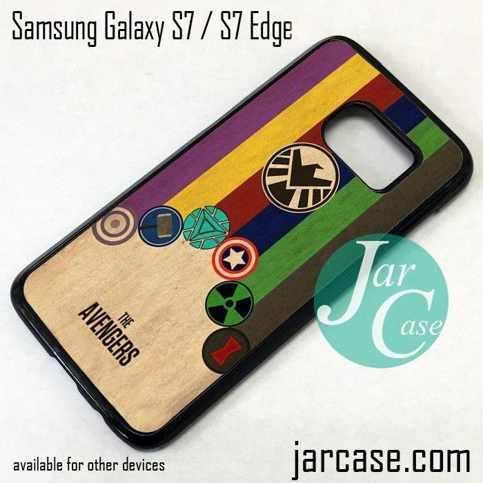 avengers samsung s7 edge phone case