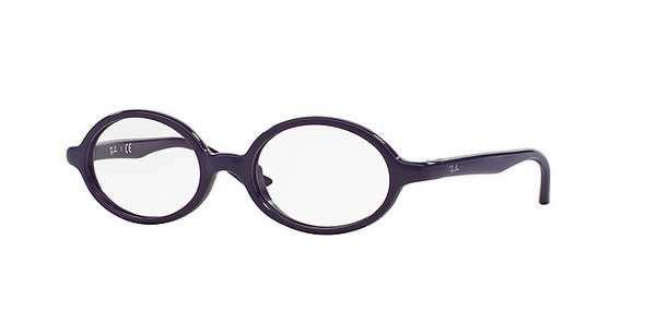 Ray-Ban occhiali da vista Primavera-Estate 2016 - Occhiali da vista ovali viola