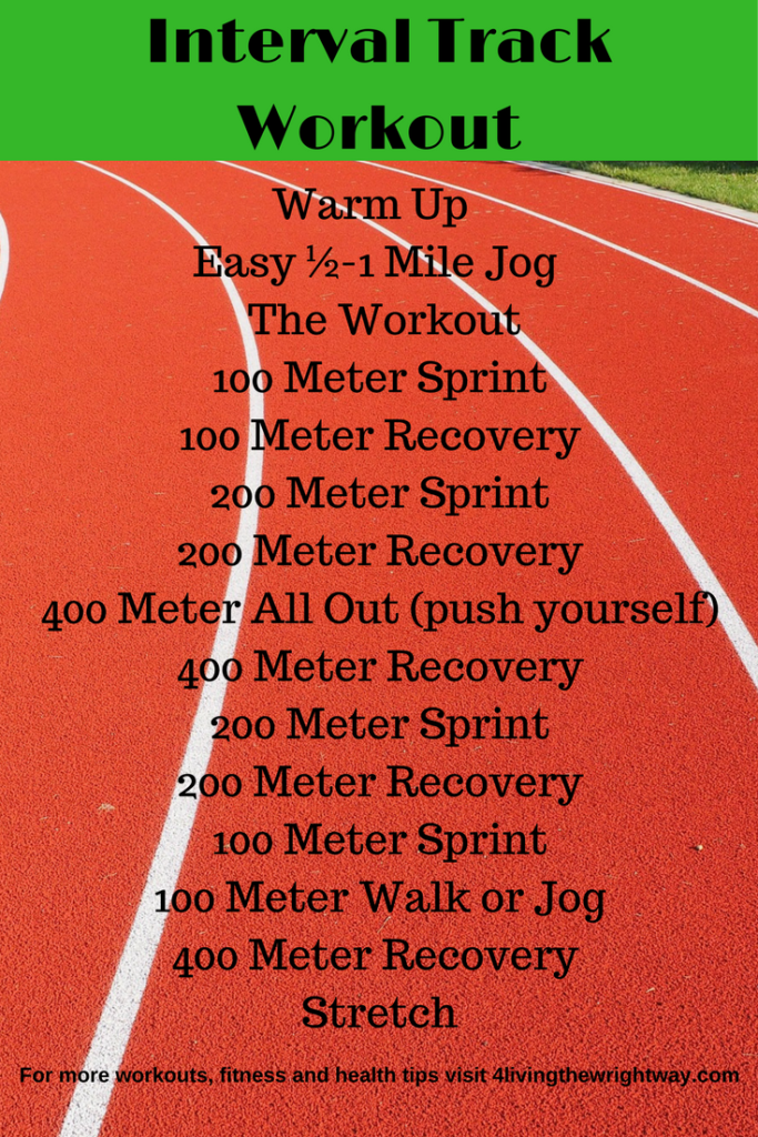 Pin On Track Workout