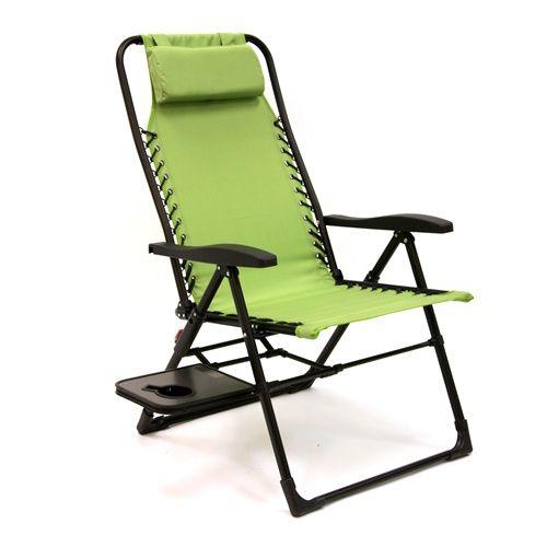 Zero Gravity Chair with Side Table – Alpine Zero Gravity Chair