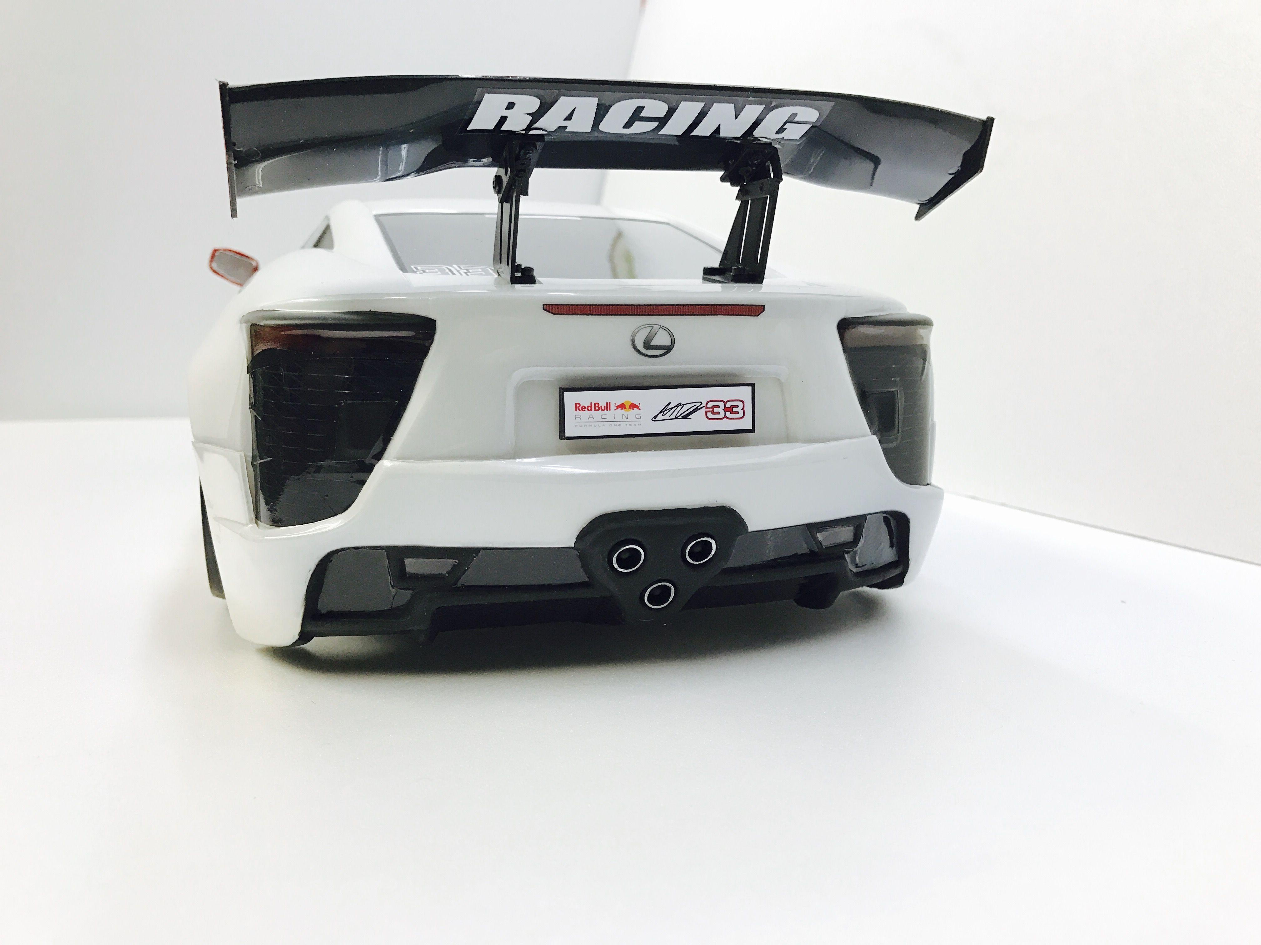 Rc 1/10 Lexus LFA In Drift Setup. Build By RC Car U0026 Bodyshop