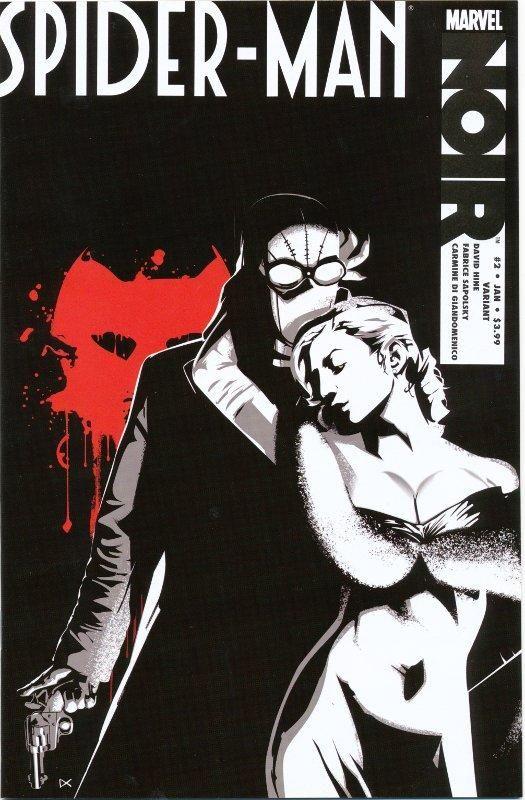 spirder man noir written by david hine and fabrice sapolsky art by