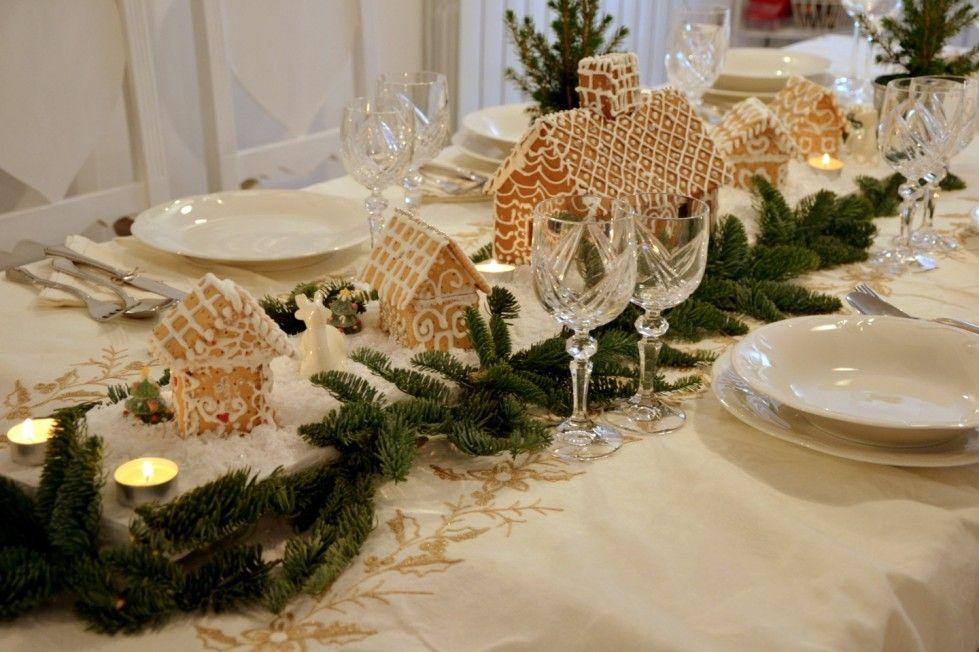 La Tavola Di Natale Immagini.Decorazioni Tavola Di Natale In Stile Shabby Chic Natale