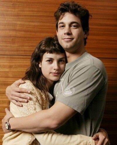 Amelia Warner with ex-boyfriend Adam Garcia