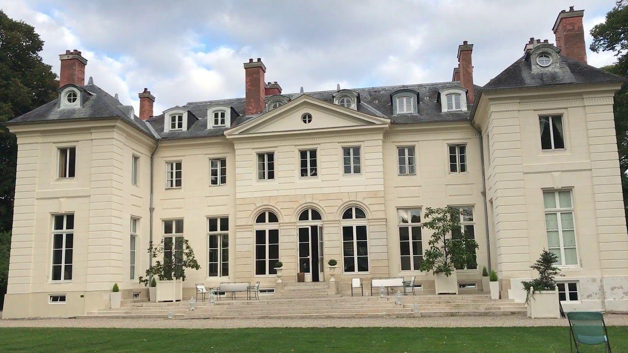 Vieujot Platre Et Chaux château de la chesnay, façades restaurées au plâtre (plâtre