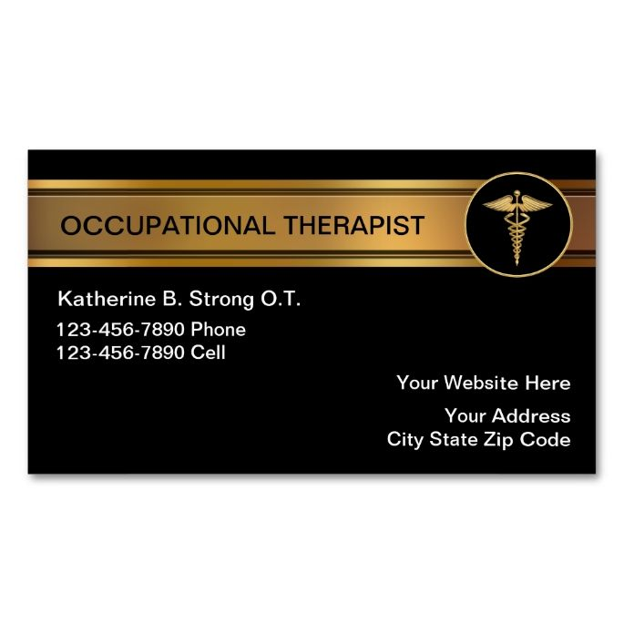 Occupational The Business Cards