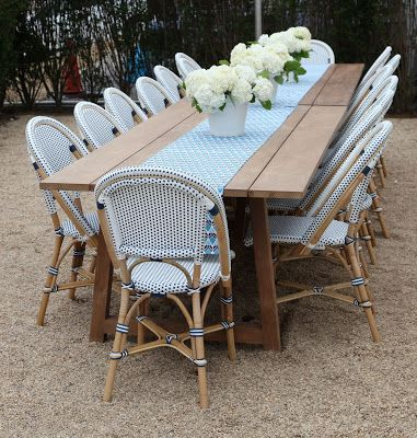 Serena Lily In The Hamptons 2018 Bistro Chairs Pinterest French And