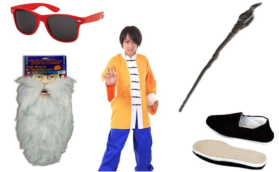 Make Your Own Master Roshi Costume Costumes Beach Outfit Dragon Ball Z