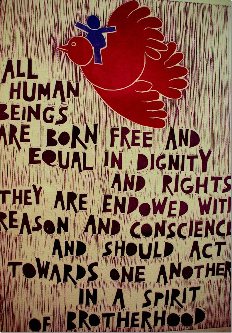 all human beings are born free and equal