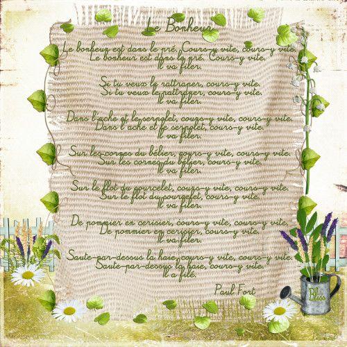 Word Art En Png Et Poèmes Le Pré Jolie Poeme Et Souvenirs