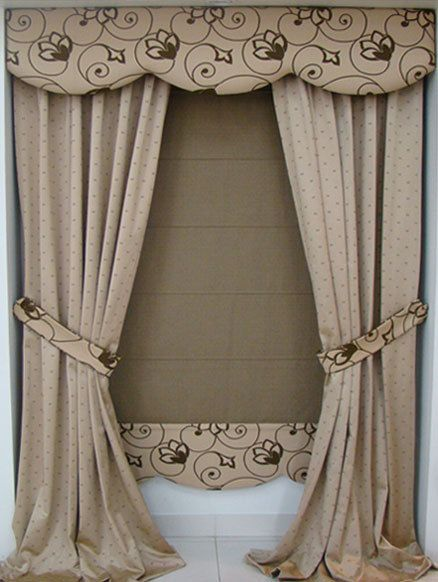 Cenefas para cortinas de carton paso a paso   buscar con google ...