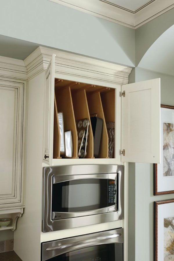Diamond at Lowe\'s Cabinets - Oven Cabinet Tray Divider   Cabinet ...