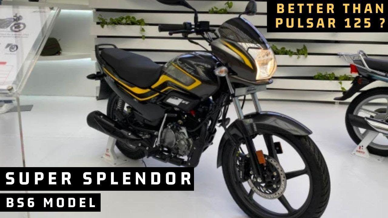 Finally 2020 Hero Super Splendor Bs6 Launch In India 6 New