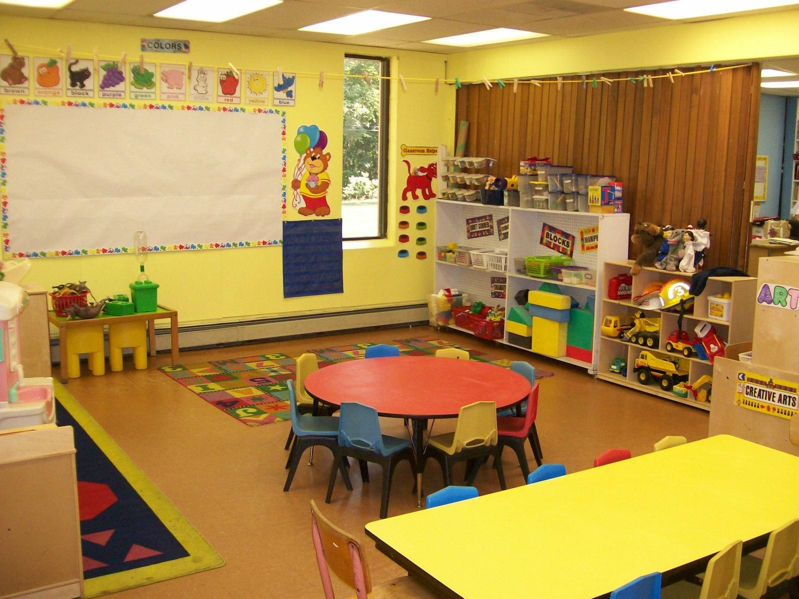 Childcare physical environment peers visual for Childcare centre