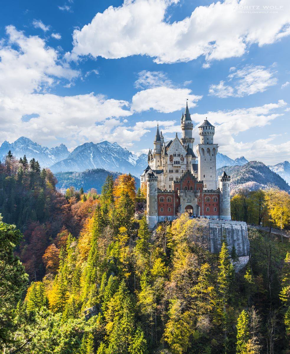 The Best View Of Schloss Neuschwanstein Schloss Neuschwanstein Neuschwanstein Castle Scenic Views