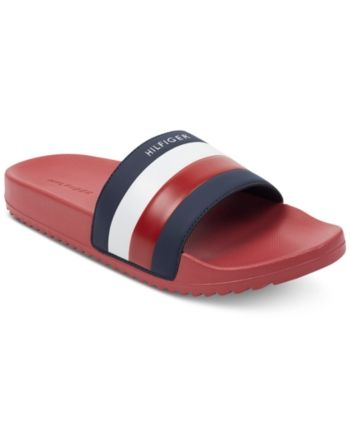ea7abf85114972 Tommy Hilfiger Men s Rox Slide Sandals - Blue 7 in 2019