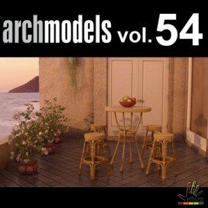 Free down load thư viện 3d max Evermotion Archmodel Vol 54