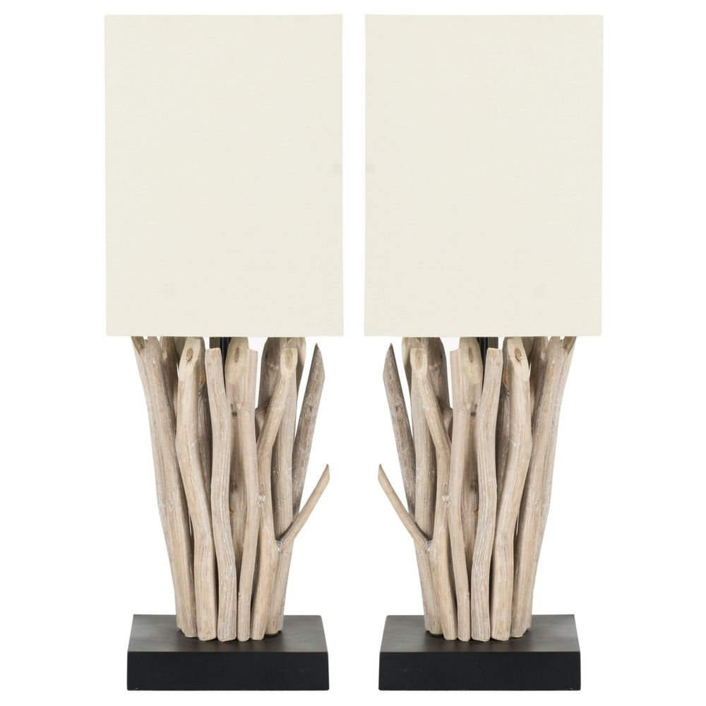 Safavieh Lighting 20-inch Aspen White Washed Wood Branch ...
