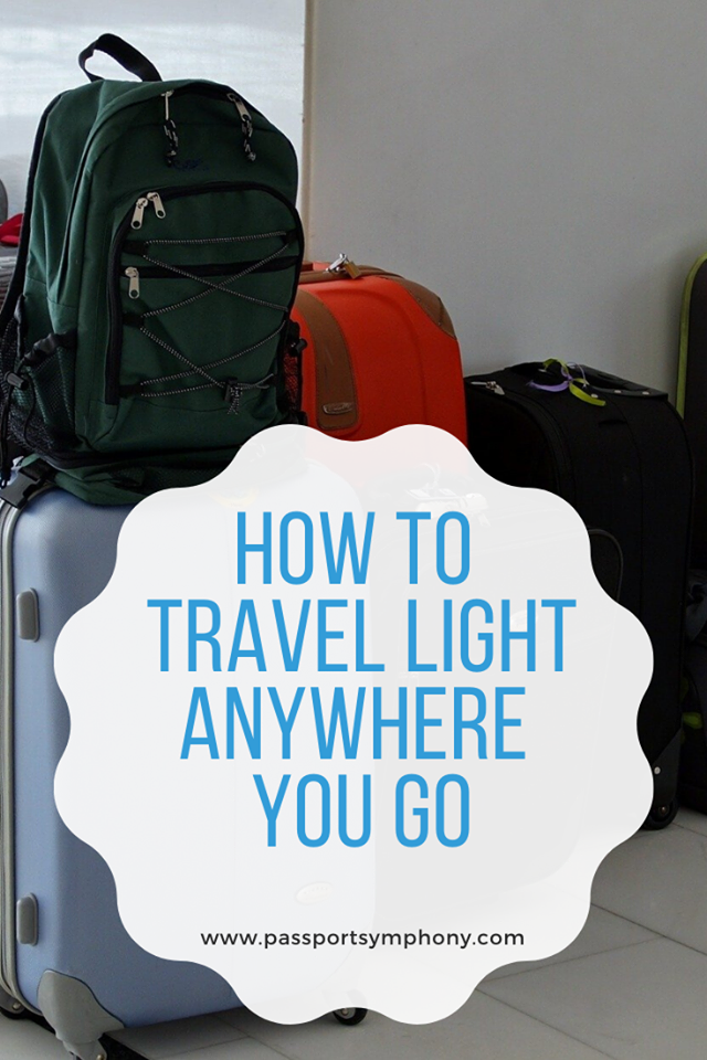 How to travel light but right regardless of where you travel to? Read our article to find out.  #travellight #packlikeapro #travelpacking