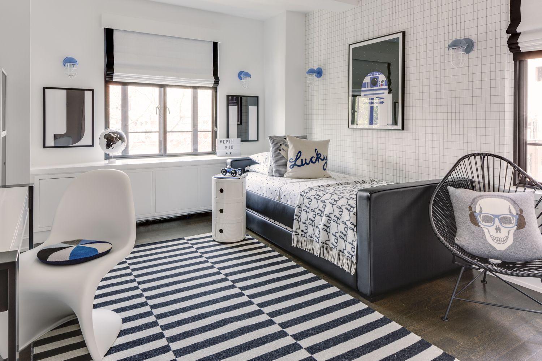 Kinderzimmer decke design dorma bed with trundle  modern boyus room  dorma bed  pinterest