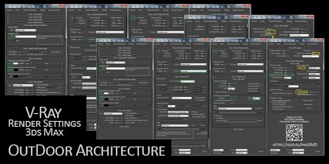 V Ray Render Settings 3ds Max 3ds Max Rendering 3ds