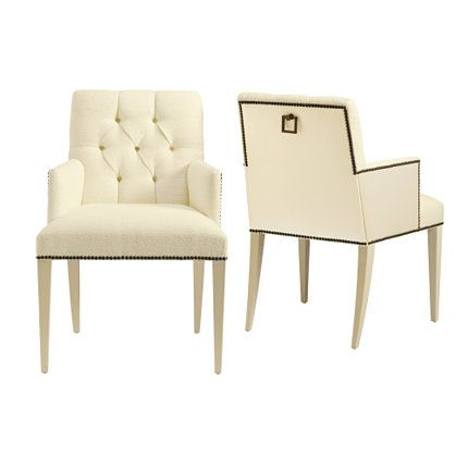 Baker Furniture St. Germain Dining Chair By Thomas Pheasant
