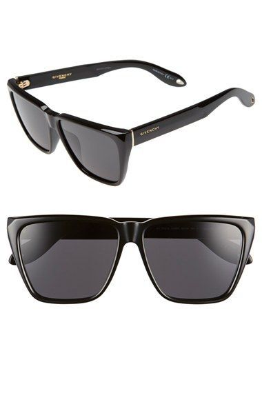 2d66a0dadc Givenchy '7002/S' 58mm Sunglasses | Products I Love in 2019 | Flat ...