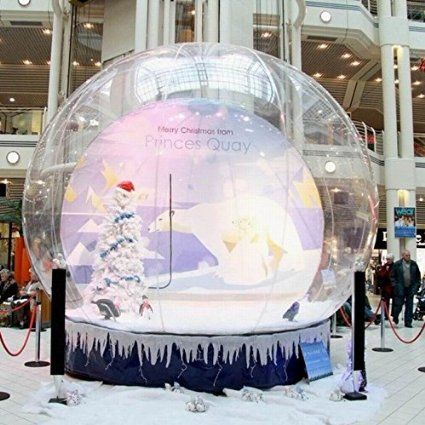 DIY inflatable snowglobe fill it with what you want. HolleywebTM Inflatable Christmas Snow Globe Bubble Tent Promotion Tent Inflatable Globe with Air Pump ... & DIY inflatable snowglobe fill it with what you want. HolleywebTM ...