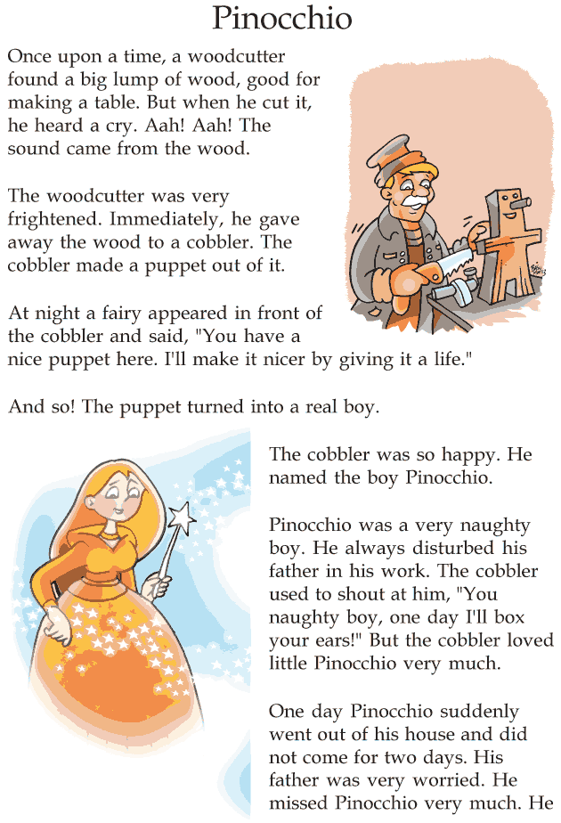 Lively image in printable fairy tales pdf