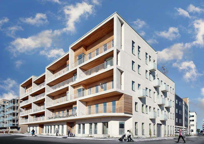 Wohnen Im Brahmsquartier: Koggens Gränd _ White Arkitekter