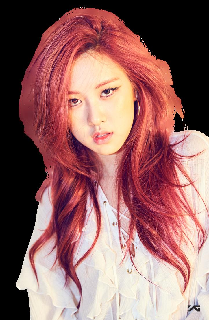 Png Rose Black Pink Viparmy By Viparmy Blackpink Rose Hair Blackpink