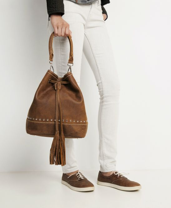 You Ll Only Find This Unique Bucket Bag Elegant And