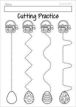 Easter Preschool No Prep Worksheets & Activities | tracing | Easter ...