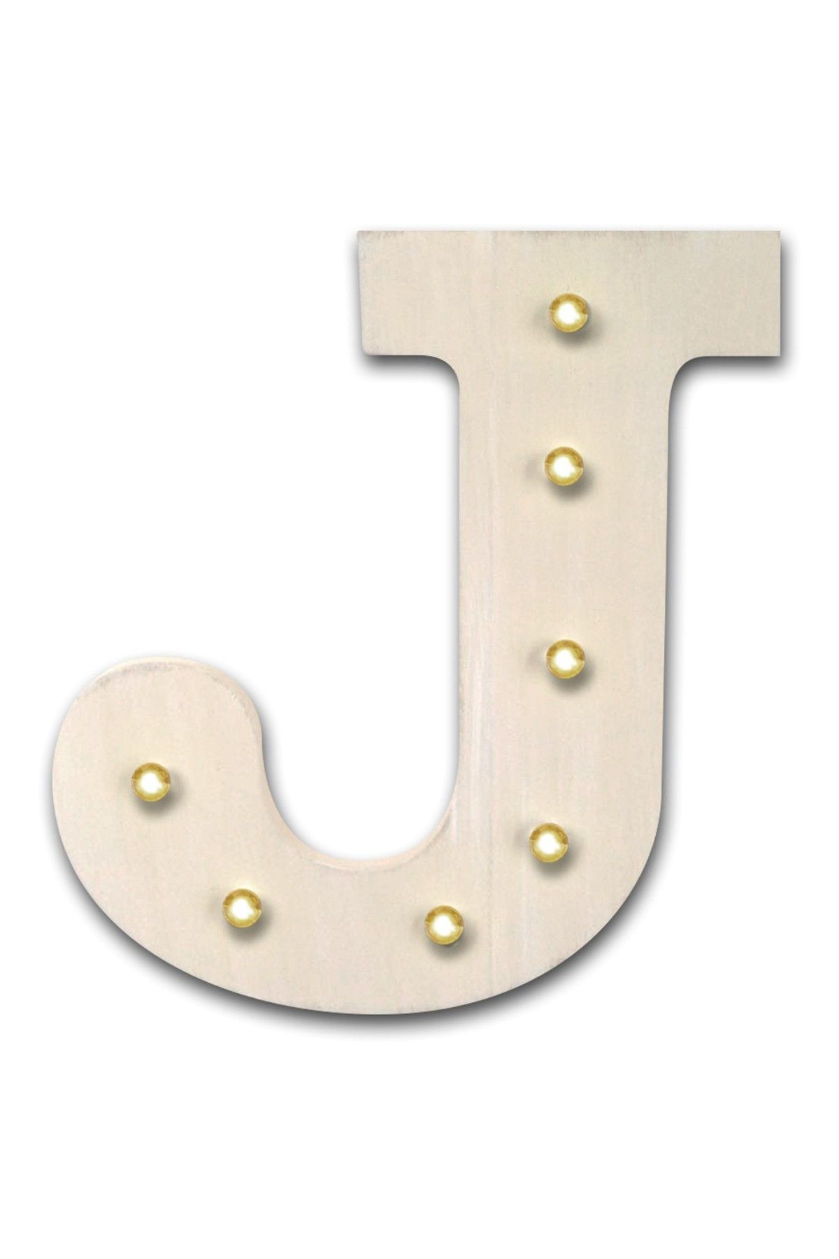 DESIGN HOUSE LA HOME - LED Letter J at Nordstrom Rack. Free Shipping on orders over $100.