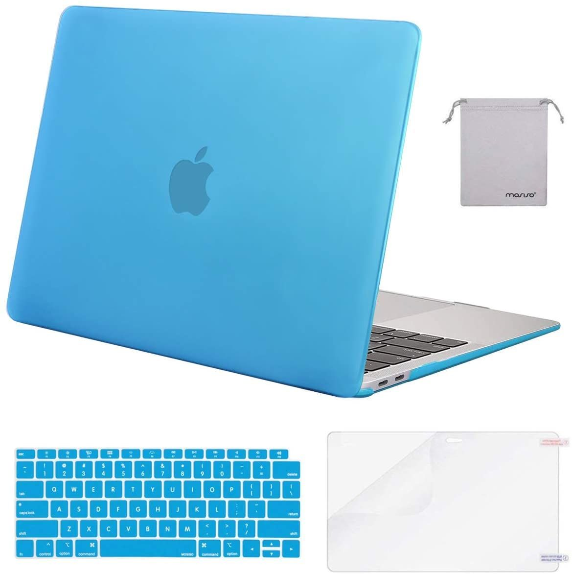 Mosiso Macbook Air 13 Inch Case 2020 2019 2018 Release A2179 A1932 With Retina Display Plastic Hard In 2020 Macbook Air Case 13 Inch Retina Display Macbook Air 13