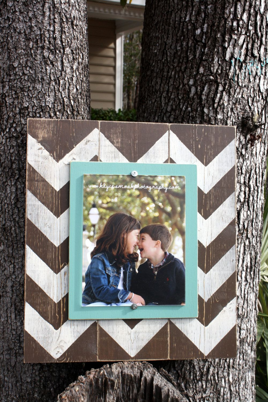 Distressed Picture Frame Wood 8x10 Frame by WestAshleyWallArt, $49.00