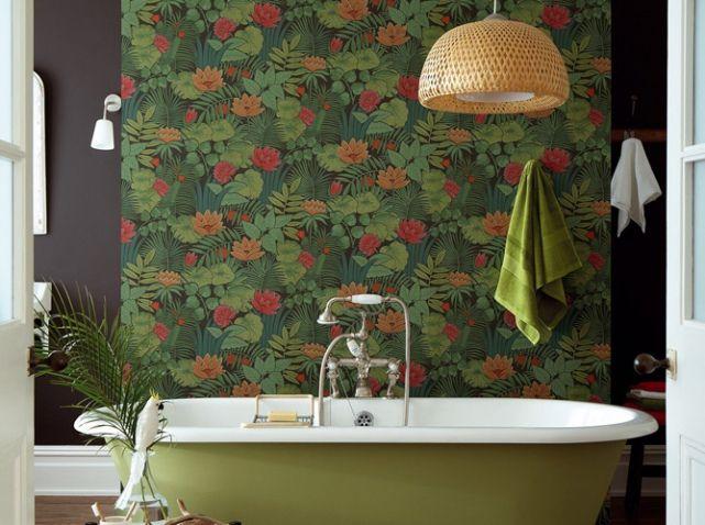 Succomberez vous la tendance tropicale d co tropicale tropical decor salle de bains - Salle de bain tropicale ...