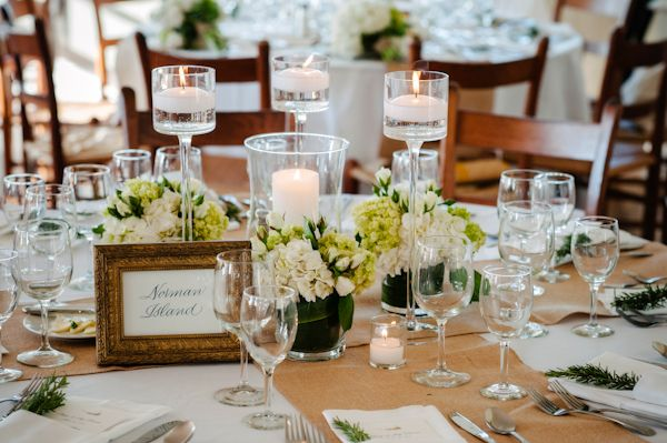 Green and white wedding centerpieces wedding centerpieces green and white wedding centerpieces junglespirit Images